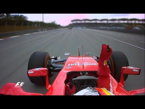 "F1 Sebastian Vettel Win Team Radio Messages ""FERRARI IS BACK"" (GP Malaysia 2015)"