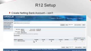 Einrichten und Verwenden von AP/AR Netting-Funktion