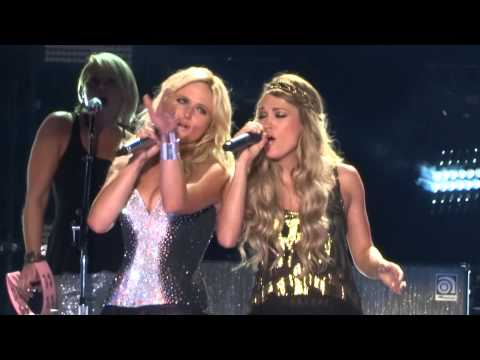 Miranda Lambert (Duet With Carrie Underwood) - Somethin' Bad Live At CMA Fest 2014 1080p HD