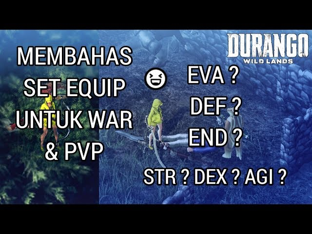 Set Equip War Dan Pvp ? | Durango Wild Lands