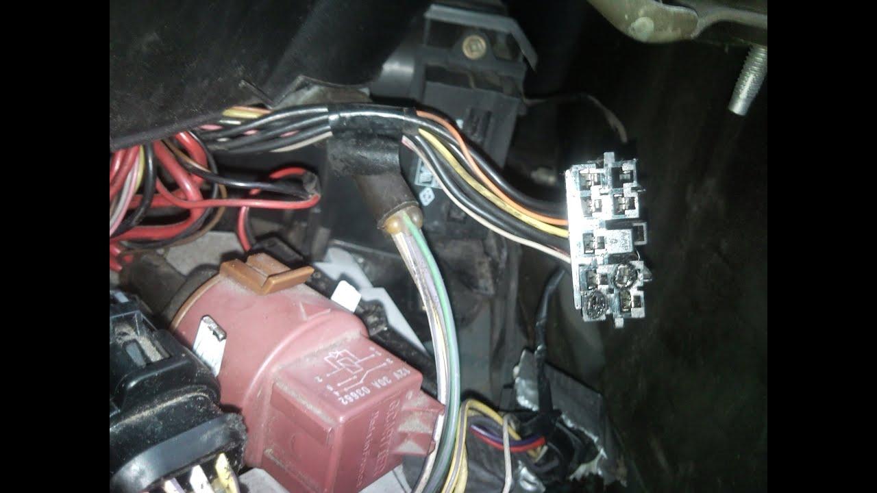 Riparazione Connettore Elettrico Resistore Motore Del