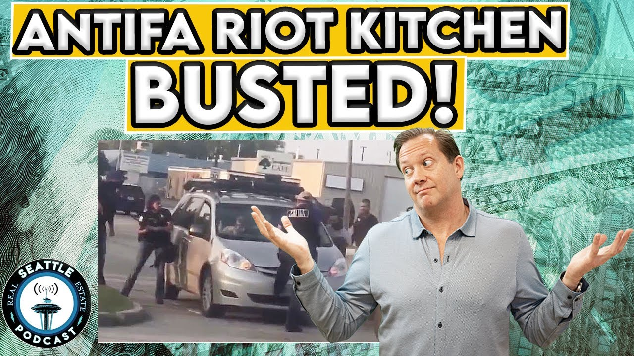 Riot Kitchen 206 From Seattle Arrested In Kenosha I Seattle Real Estate Podcast Youtube
