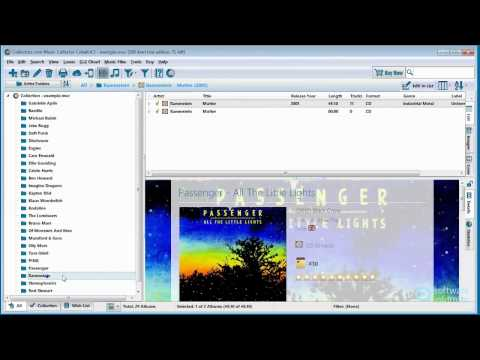 Music Collector demonstration