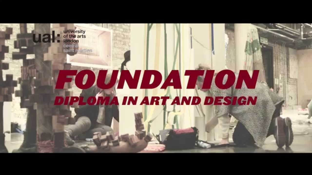 Foundation Diploma In Art And Design At Central Saint Martins Youtube