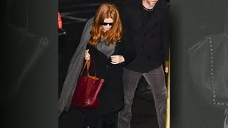 Amy Adams's Handbag Causes Controversy at Philip Seymour Hoffman Funeral