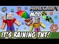 "It's Raining TNT! Mike & Dad play Minecraft ""Too Much TNT"" Mod"