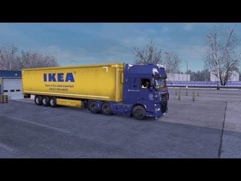 ★ Euro Truck Simulator 2 ★ Восточный Экспресс V 10.8 (Омск - Курган)