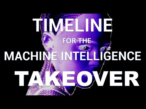 Timeline for the A.I. Takeover
