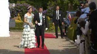Fredeik & Mary arrive at Joachim & Marie's Wedding (2008)