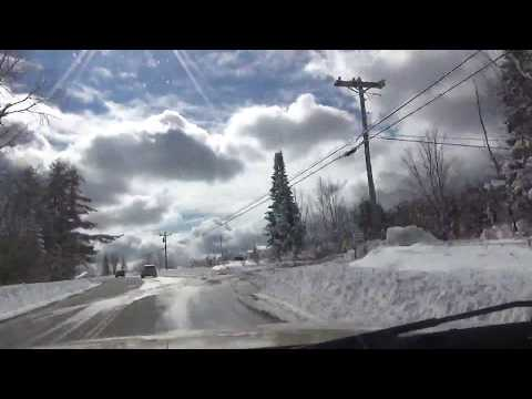 Driving from Plymouth, NH to Saratoga Springs, NY (Slow).