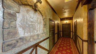 Люкс отель Три мушкетера Luxury Hotel Tri Mushketera Анапа Россия обзор отеля территория