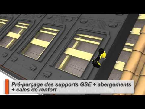 Groupe Solution Energie panneaux solaires GSE Integration In Roof