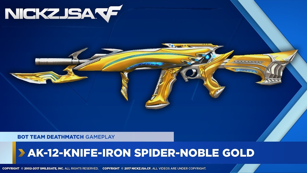 AK-12-Knife-Iron Spider-Noble ...