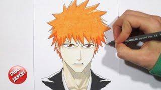 How to draw Ichigo / Cómo dibujar a Ichigo Kurosaki [Bleach]