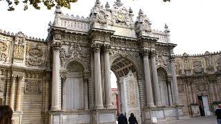 Dolmabahçe Palace - Stambuł - Istanbul - Pałac Dolmbahcze - Wieża Zegarowa - Meczet - Turcja