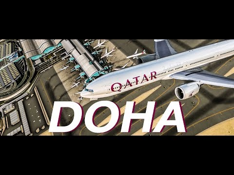 [P3Dv4] Qatar 777 taxi and Take off from Hamad International Airport | DOH-SYD