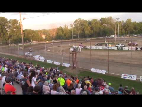 Miller Light Modifieds Feauture Race @ Quincy Raceways on 6/15/14