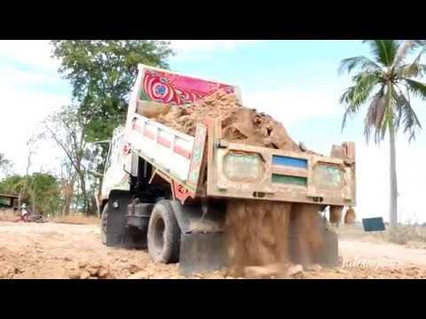 รถดั้ม  รถบรรทุก 6 ล้อ ถมดิน  เทดิน  TRUCK  THAILAND