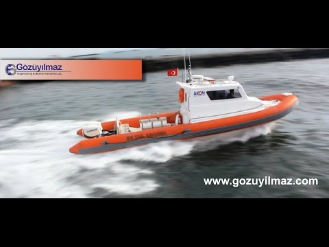 Gözüyılmaz Engineering & Marine Industries - PATROL RHIB BOAT 9.70