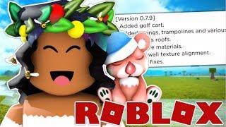 NEW PLAYGROUND, GOLF CART & MORE!! Bloxburg Update 0.7.9 | Roblox: Bloxburg