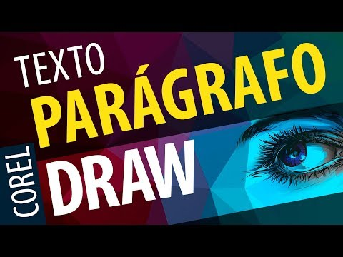 USE DO JEITO CERTO A FERRAMENTA DE TEXTO PARÁGRAFO DO COREL DRAW - Curso de Corel Draw 2017, x7,, x8