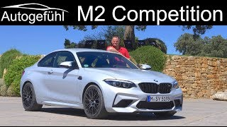 BMW M2 Competition FULL REVIEW 2-Series M 2019 - Autogefühl