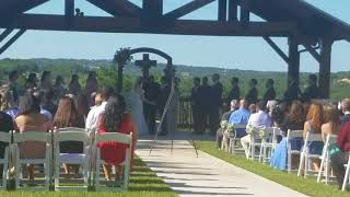 Stephens and Ramirez Wedding at Boulder Springs performed by Reverend Esparza