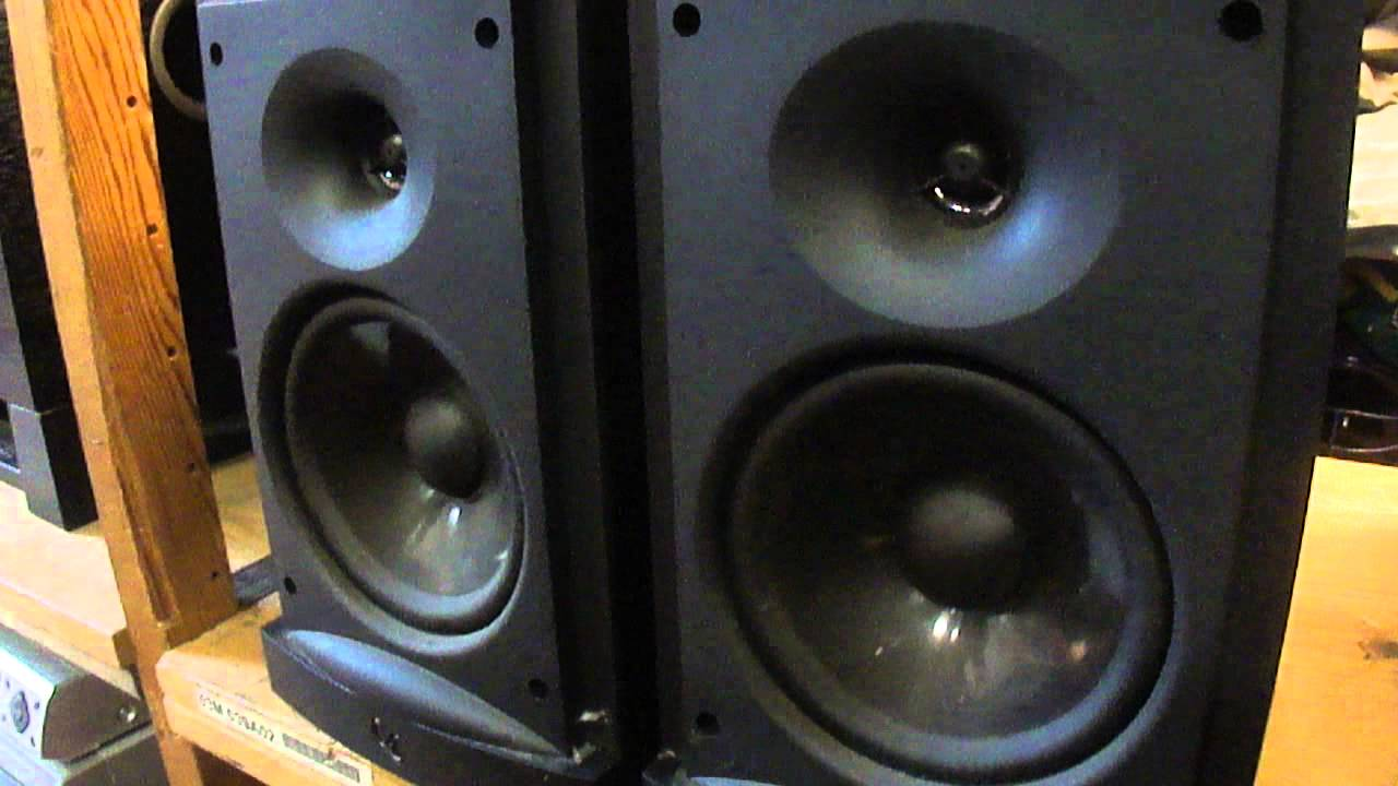 2 Infinity Reference 8ohm 20001 Bookshelf Stereo Surround Speakers Set