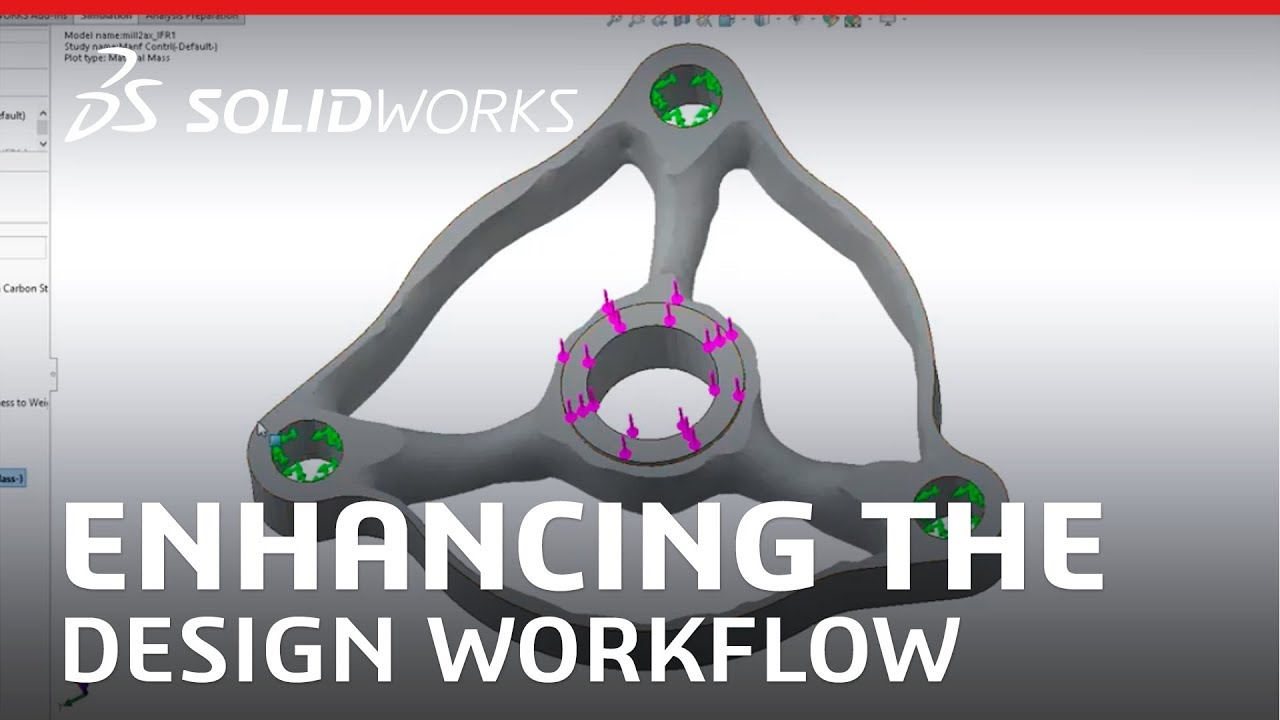 Enhancing the Design Workflow Within SOLIDWORKS Using Generative Design -  SOLIDWORKS