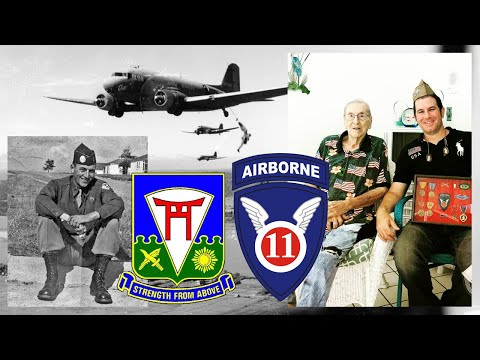 1LT Andrew Carrico, D Company, 511th Parachute Infantry Regiment, 11th Airborne Division - Int. #2
