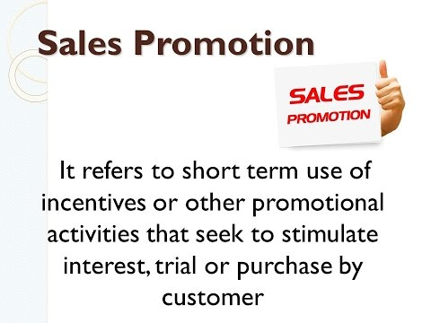 sales promotion and techniques Sales promotion describes promotional methods using special short-term techniques to persuade members of a target market to respond or undertake certain activity.