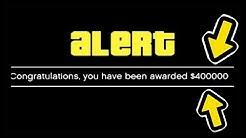 How To Get 400,000 Dollars In GTA 5 Online!!!