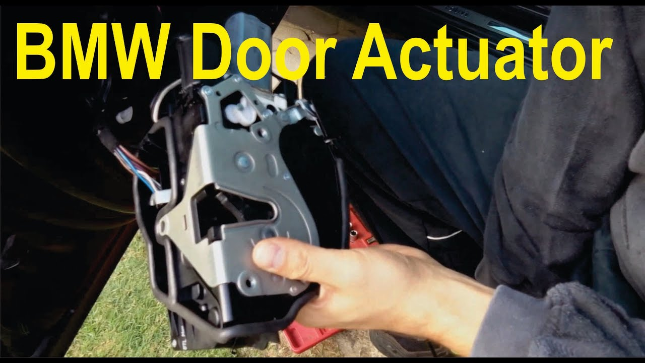 Drivers door won t open after changing handle carrier xoutpost com - How To Assemble And Disassemble Door Lock Actuator Soft Close For Bmw