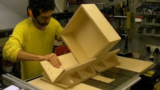 Splined / Keyed Mitre Sledge And Box - Building And Using On Table Saw
