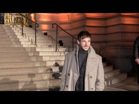 Gaspard Ulliel attending 2019 Cesar Revelations ceremony in Paris
