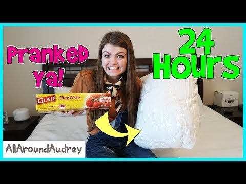 24 Hours Overnight In Parents Room - Pranking Parents / AllAroundAudrey