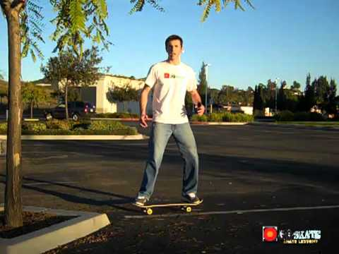 An Exercise to Increase Beginner Balance on a Skateboard