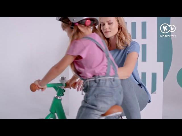 Rowerek biegowy Kinderkraft RAPID Magnesium