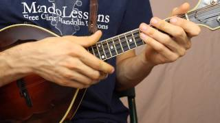 The Girl I Left Behind Me (With Tabs & Play Along Tracks) - Mandolin Lesson