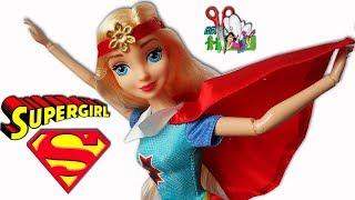 СУПЕРГЁРЛ/Super Hero Girls/КУКЛА - ПОДДЕЛКА/ИТОГИ РОЗЫГРЫША НА КУКЛУ/Muza Rukodeliya 🌺