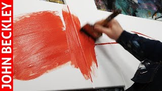 Abstract Painting EASY With Masking Tape   Inaro