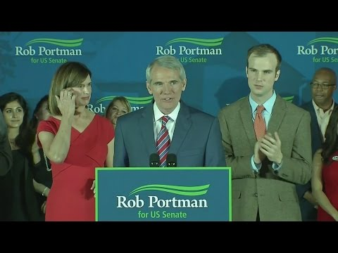 Rob Portman victory speech