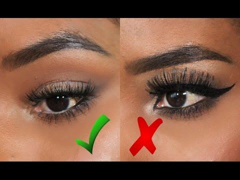 Maquillaje de ojos para p rpados ca dos paso a paso for Como maquillar ojos ahumados paso a paso
