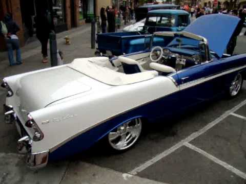 1956 chevrolet bel air convertible for sale 2009 huntington beach beachcruiser car show youtube. Black Bedroom Furniture Sets. Home Design Ideas