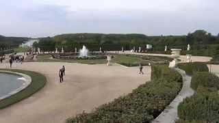 France: Versailles. Франция: Версаль(My video. 9'2012. Автобусный тур