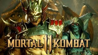 Mortal Kombat 11 Story Mode Gameplay German #04 - Shaolin Style