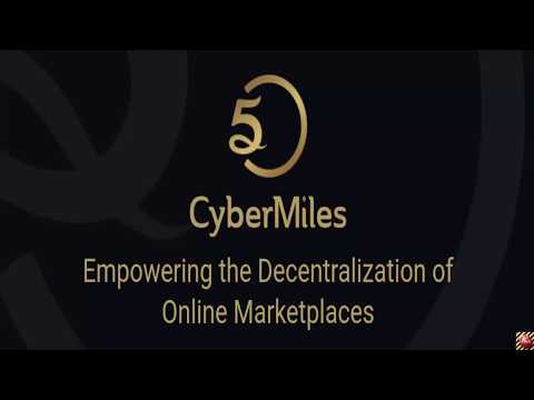 ICO CyberMiles — decentralized marketplace platform on own Blockchain