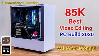 Best pc build for video editing india 2020 | gaming ryzen 7 & custom builds 2...