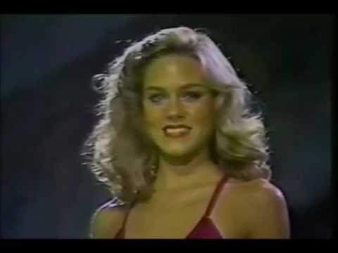 Shawn Weatherly  USA , Miss Universe 1980  Swimsuit Competition