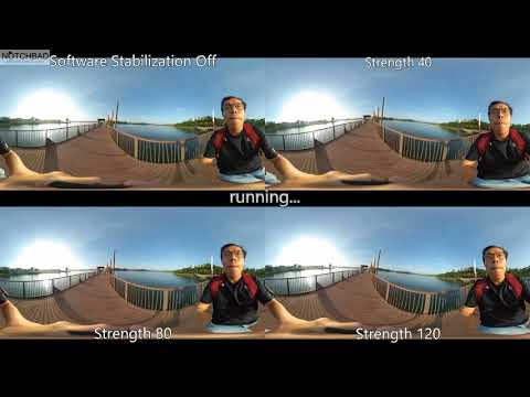 Madv360 Madventure360 Mi Sphere Gyro with Software  Stabilization Footages Comparisons Test